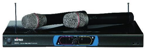MIPR 麥克風 無線麥克風 MIPRO無線麥克風 MIPRO嘉強 專業用無線麥克風組RV-8 麥克風 專業無線麥克風RV-8