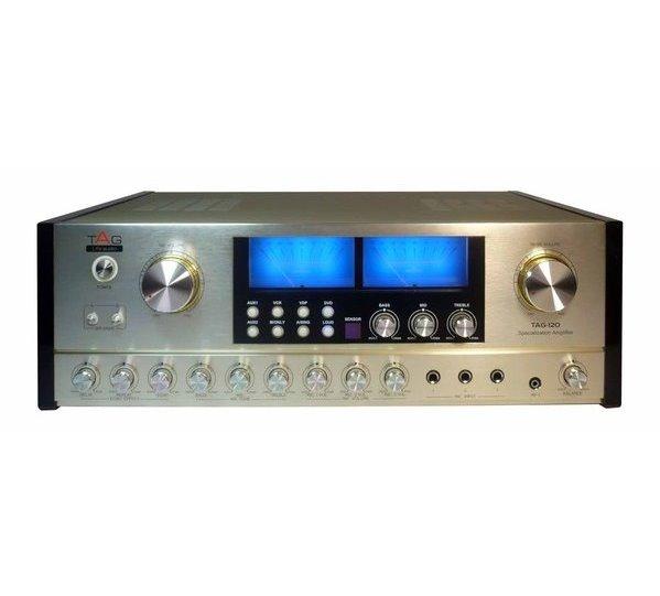 TAG擴大機 卡拉OK擴大機TAG Life Audio TAG-120 / TAG120 頂級台製智慧型數位混音擴大機 卡拉OK擴大機 伴唱機擴大機推薦☆另可搭配其他型號伴唱機音響組