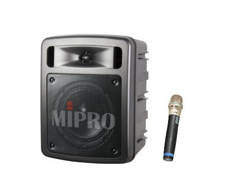 MIPRO MA-303su 超迷你手提式無線喊話器/擴音機/教學機 內建USB 附一支無線麥克風