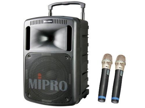 MIPRO MA-808 大型行動式擴音喇叭 附二支無線麥克風