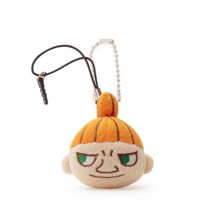 【禾宜精品】*正版 Moomin 嚕嚕米 立體亞美 (小不點) 手機擦 吊飾 玩偶 玩具 生活百貨 M104001-E