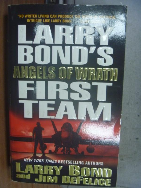 【書寶二手書T8/原文小說_OSV】Larry's Bond's First Team_Larry Bond
