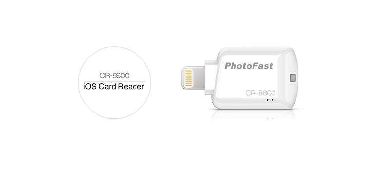 ◎相機專家◎ PhotoFast CR8800 iOS microSD 讀卡機 永準公司貨