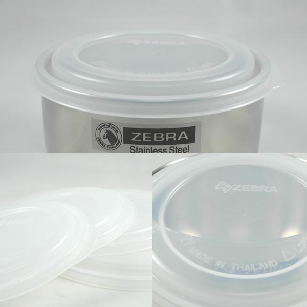 ZEBRA斑馬牌保鮮碗調理碗專用PE上蓋單入-大廚師百貨