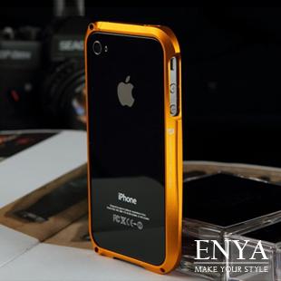 iPhone5S 鋁合金金屬紋路小蠻腰 手機殼 Enya恩雅(郵寄免運)