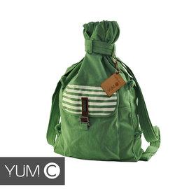 【風雅小舖】【美國Y.U.M.C. Melrose休閒系列Veshmeshok Rucksack 帆布束口袋後背包 青瓷綠】電腦包/雙肩包