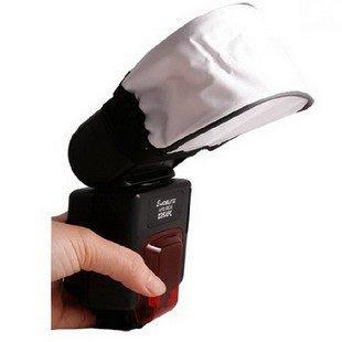 攝彩@萬用閃光燈布罩 柔光罩 柔光布罩 加強柔光反光型-21010