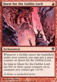 【Playwoods】 MTG 魔法風雲會 WWK No. 086 Quest for the Goblin Lord 探索鬼怪領主 UC卡(白卡非普紅結界)