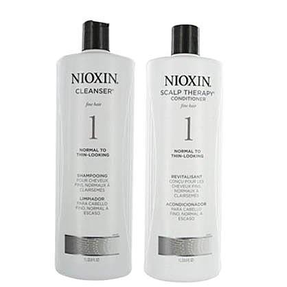 儷康絲 NIOXIN 賦活1號頭皮洗髮精/護髮素 1000ML ☆真愛香水★