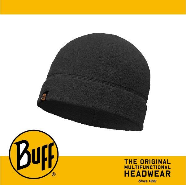 BUFF 西班牙魔術頭巾 POLAR保暖系列 保暖帽 [素面黑] BF110929-999-10