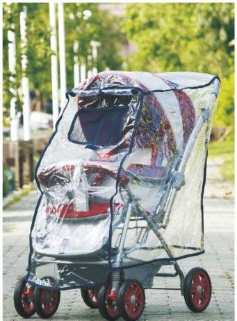 『121婦嬰用品館』欣康 手推車雨罩- 單人