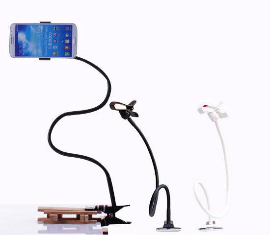 懶人支架 軟管 懶人手機 智慧型手機多功能支架 適用6.4吋以下所有手機 桌邊 床頭皆可使用