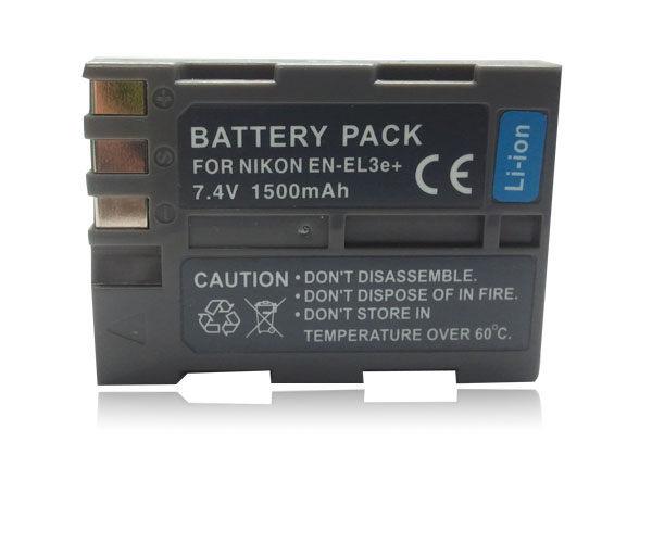 【盈佳資訊】NIKON EN-EL3e+ 高容量防爆鋰電池 原廠品質有保障 D700 D300 D200 D100 D80 D90 D70 D70S D50