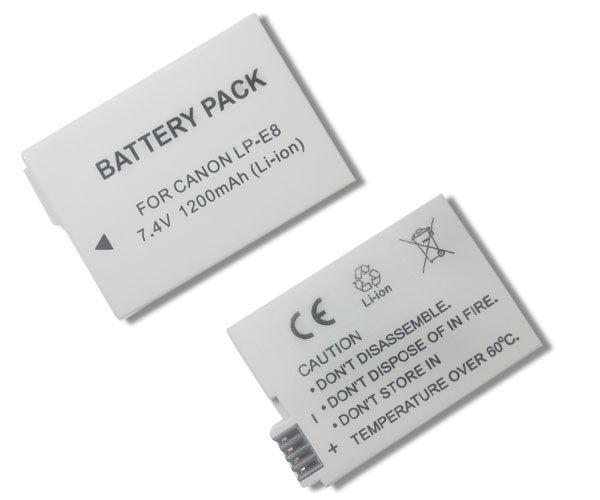 【盈佳資訊】Canon LP-E8 高容量防爆鋰電池 原廠品質有保障 550D 600D Kiss X4 Kiss X5 Ti2