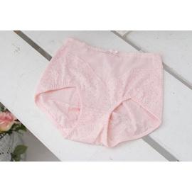 *孕味十足。孕婦裝*【AH605】?台灣製造?產後推薦緹花彈力收腹提臀調整型束褲.粉色