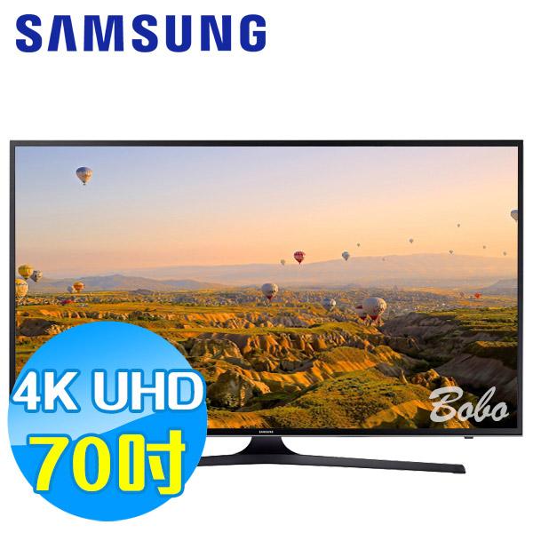 SAMSUNG三星 70吋 UHD 4K 平面液晶電視 UA70KU6000WXZW