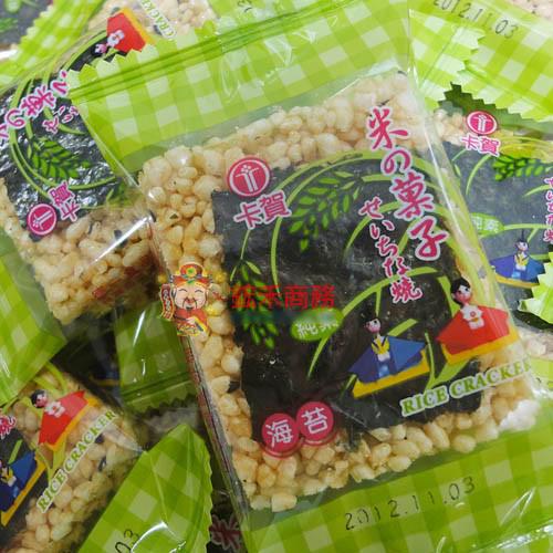 【0216零食會社】卡賀-海苔米果子