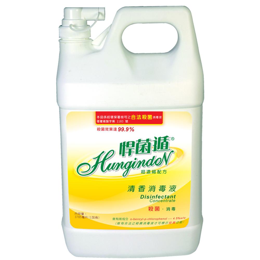 悍菌遁清香消毒液(一加侖)