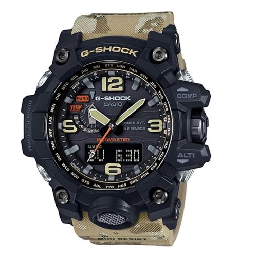 CASIO G-SHOCK 軍事帥氣風格運動電波腕錶/GWG-1000DC-1A5