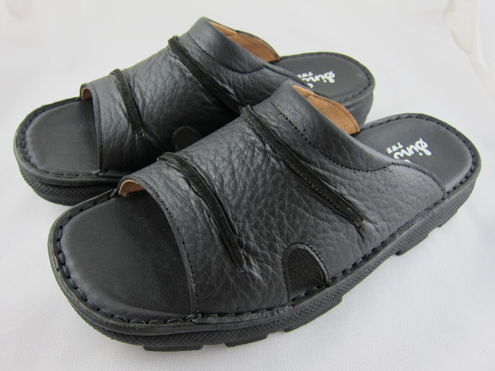 真皮工坊~穿過的都說讚【B1015】比氣墊鞋好穿*保證㊣牛皮真皮手工男拖鞋【顏色多種可自選、顏色挑選請參考首頁】