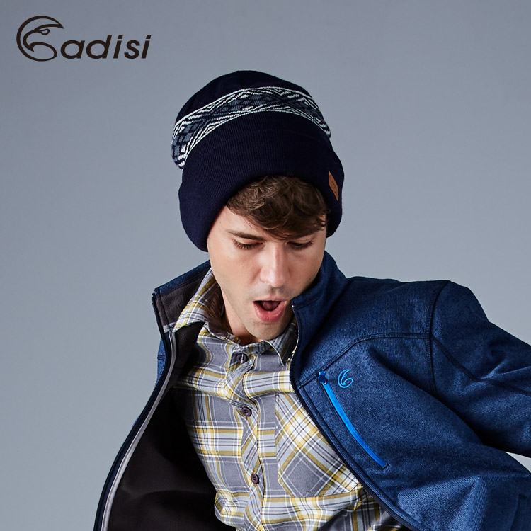 ADISI 3M THINSULATE美麗諾羊毛雙層保暖帽AS16164 (F) / 城市綠洲專賣(紐西蘭羊毛、針織帽)