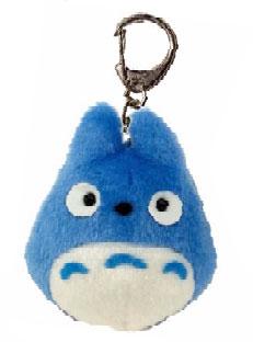 【真愛日本】16051100026娃娃鎖圈-Q版藍龍貓    龍貓 TOTORO 豆豆龍 鑰匙圈 吊飾 正品