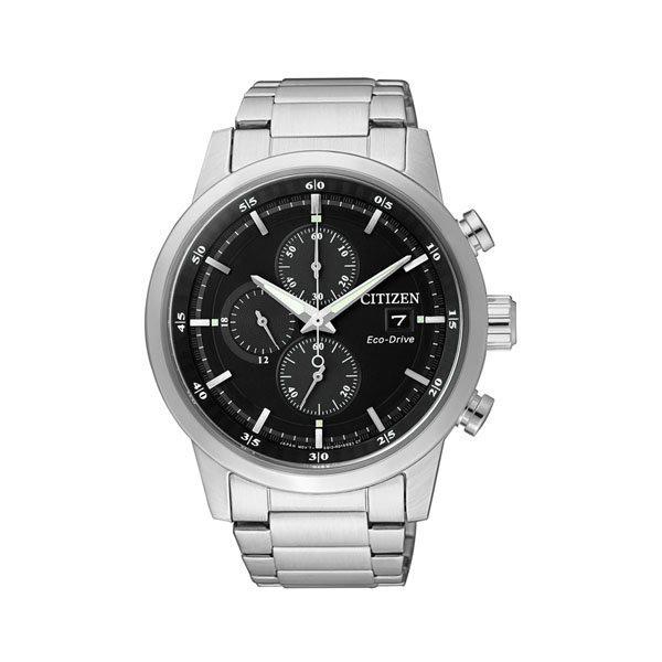 CITIZEN星辰CA0610-52E時尚光動能計時腕錶/黑面41mm