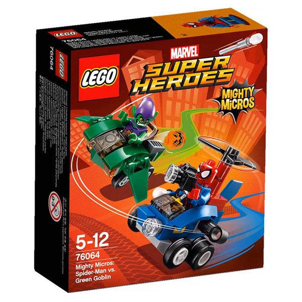 【LEGO 樂高積木】SuperHeros系列-蜘蛛人vs.綠惡魔 LT-76064