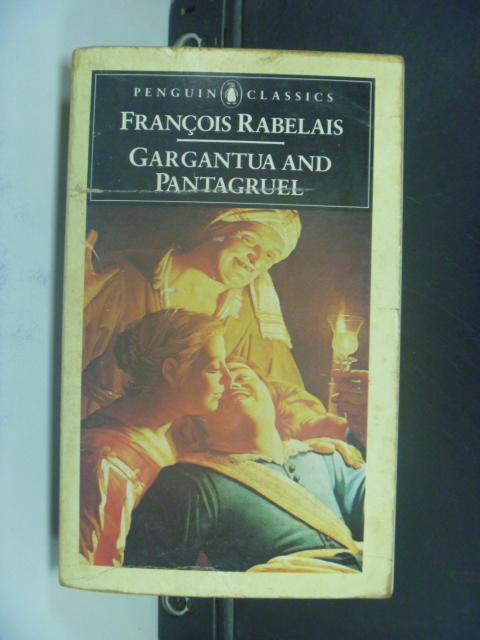 【書寶二手書T3/原文小說_NLR】Gargantua and Pantagruel_Jean