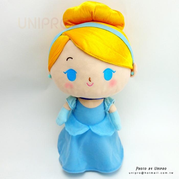 【UNIPRO】仙履奇緣 仙杜瑞拉 38公分 玩偶 娃娃 布偶 迪士尼公主 灰姑娘 Cinderella