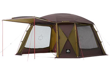 【露營趣】中和 附大露營燈 LOGOS LG71805521 金牌 PANEL抗風進化系340AE 客廳帳 炊事帳 網屋