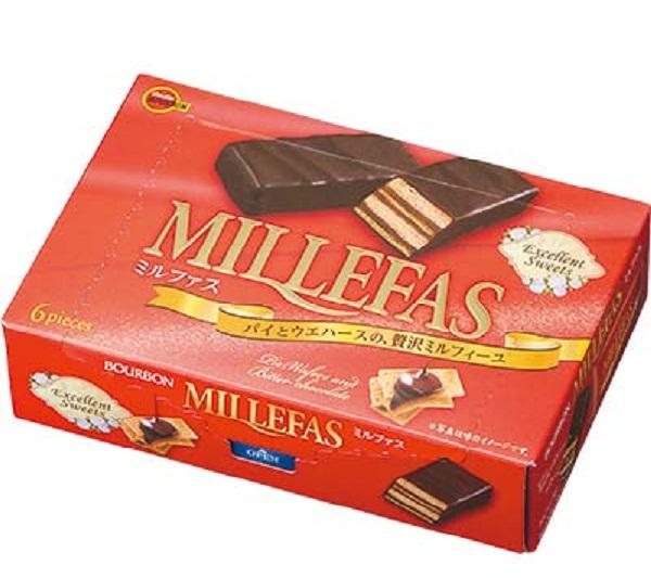 北日本盒裝威化巧克力 120g