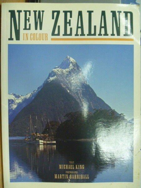 【書寶二手書T6/旅遊_ZHV】New Zealand