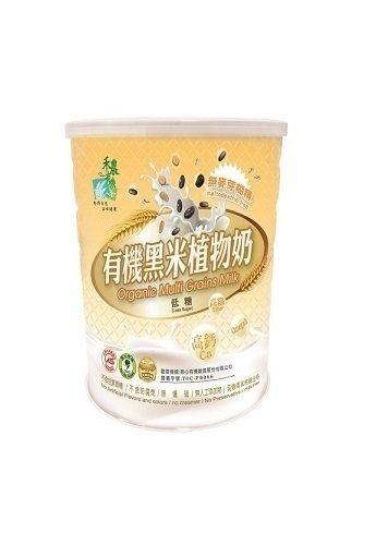禾農 有機黑米植物奶(減糖) 850g/罐 (買1送1) 原價$990 特價$899