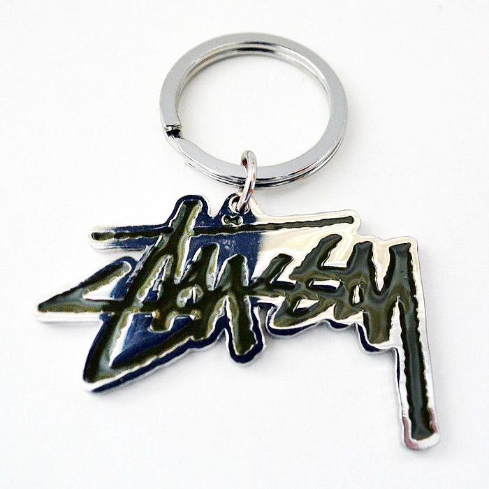 Stussy Classic Logo KeyChain - 金屬 高質感 鑰匙圈 配件 紐約 新品 免運