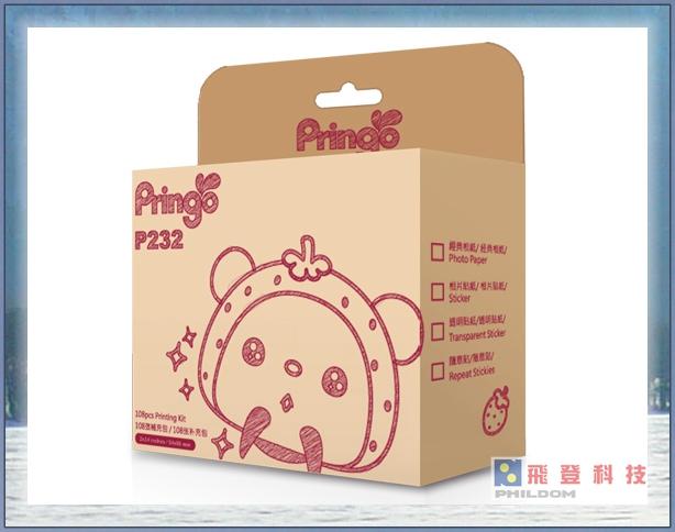 【HiTi】Pringo P232專用相紙 PS108 108張經典相紙底片(全彩銀)+3捲色帶