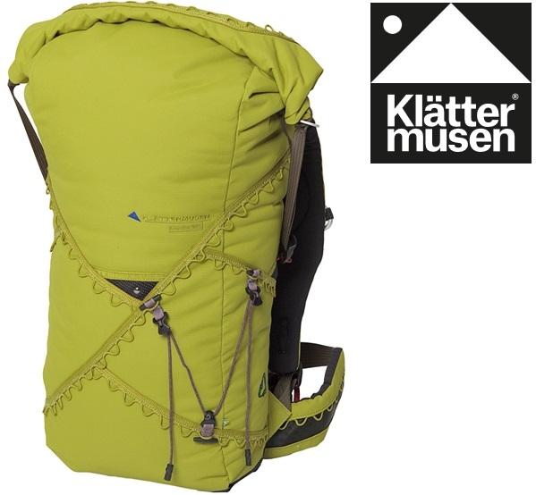Klattermusen 攀山鼠/瑞典攀登鼠 Arvaker 40L 登山背包 KM40042U 香茅綠