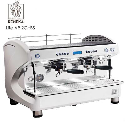 預購商品--【Reneka】Life AP 自動填壓系統 2G 雙孔義式咖啡機+BS鮮奶自動發泡系統