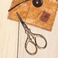 日本古典復古風剪刀-金色經典