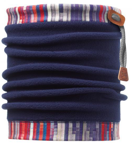 Buff 健行/滑雪/旅遊 頭巾/頸圍/刷毛圍巾/脖圍 抽繩POLAR保暖領巾 108990 線條瀑布