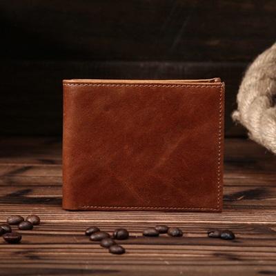 皮夾真皮牛皮短夾錢包-超薄簡約個性商務男包包73ff29【獨家進口】【米蘭精品】