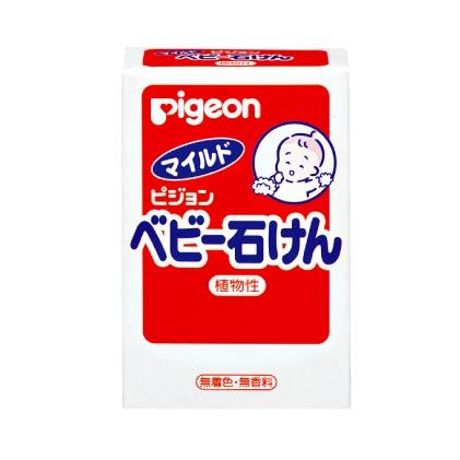 日本【貝親Pigeon】嬰兒潤膚皂