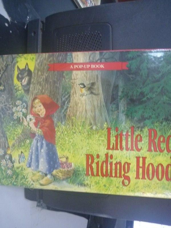 【書寶二手書T5/少年童書_ZCV】Little Red Riding Hood_林麗雯_未拆封