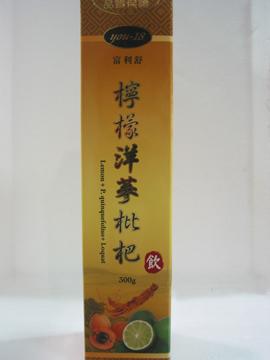 富利舒~檸檬洋蔘枇杷飲300公克/罐