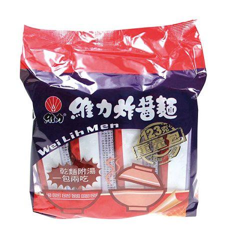 維力炸醬麵重量包-1包(4入*123g/包)【合迷雅好物商城】