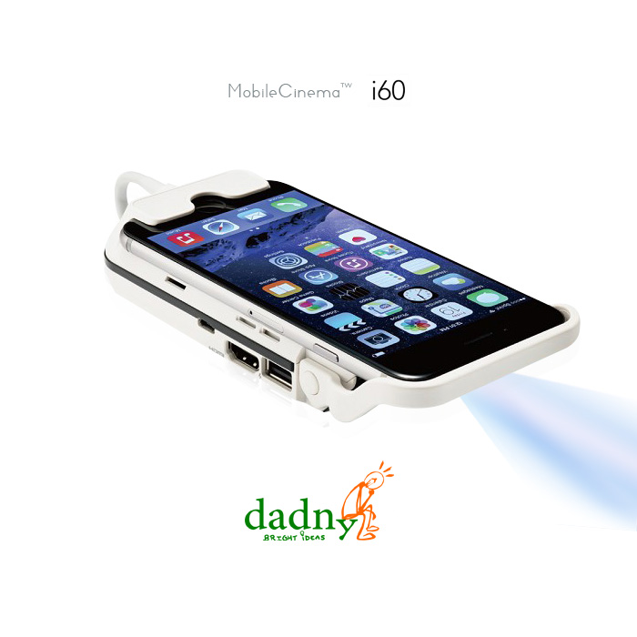★快速到貨★【iPhone6 4.7吋專用】dadny i60 微投影機 (加碼贈Apple原廠Lightning Digital AV轉接線)