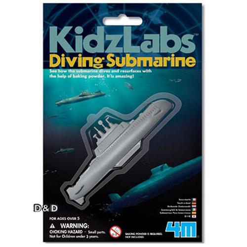 《4M科學探索》Diving Submarine 潛水艇