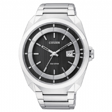 CITIZEN 時尚品味光動能腕錶 AW1010-57E