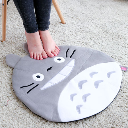 龍貓造型腳踏墊 豆豆龍 Totoro 宮崎駿 吉卜力 日本 地墊 腳踏墊 踏墊 防滑地墊 客廳地墊【B061176】