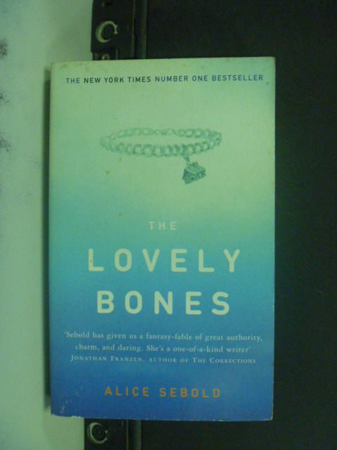 【書寶二手書T9/原文小說_JHT】Lovely Bones(蘇西的世界)_Sebold,Alice